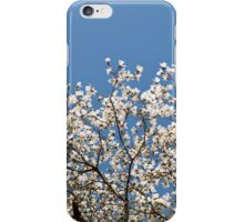 White Magnolia blossoms bunch iPhone Case/Skin