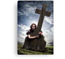 mourning Canvas Print
