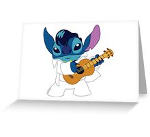 Elvis Stitch Greeting Card