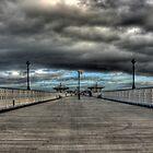 Deserted Pier by Paul Sampson