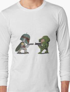 HUNTER VS SOLDIER Long Sleeve T-Shirt
