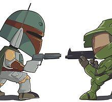 HUNTER VS SOLDIER by masciajames