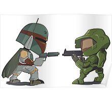 HUNTER VS SOLDIER Poster