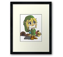 I Didn't Do It! Framed Print