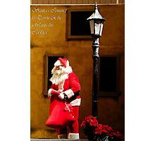 Santa Wants his Cookies... Photographic Print