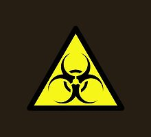 ZOMBIE APOCALYPSE HAZMAT SIGN by Zombie Ghetto by ZombieGhetto