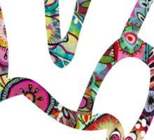 Peace Sign Hand Sticker