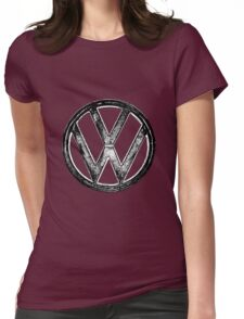 VW Logo Womens Fitted T-Shirt