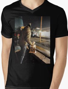 yard Mens V-Neck T-Shirt