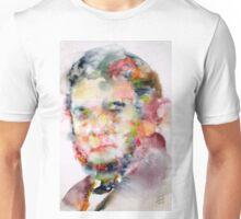 STENDHAL - watercolor portrait Unisex T-Shirt