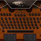 Steampunk Desk Verne by inception8