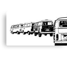 VW Convoy Canvas Print