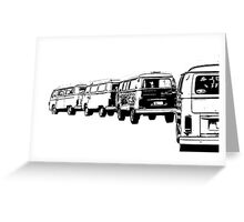 VW Convoy Greeting Card