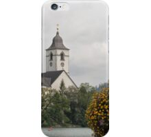 Parish Church of Saint Wolfgang iPhone Case/Skin