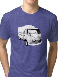 Split ute Tri-blend T-Shirt