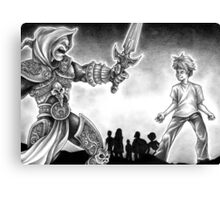 Forts Characters Canvas Print