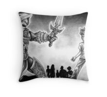 Forts Characters Throw Pillow