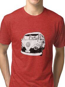 Tassie Splitty 2 Tri-blend T-Shirt
