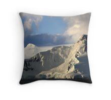 Antarctic Peninsula mountain range 2 Throw Pillow