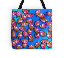Saturated Egg Man Chaos Duvet Cover Tote Bag