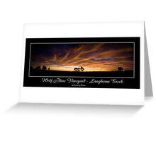 Vineyard Lights Greeting Card