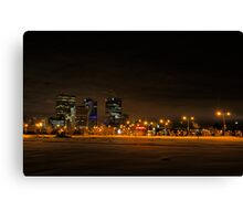 Winnipeg Winter Skyline Canvas Print