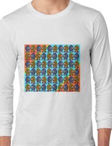 Saturated Egg Man Organized Duvet Long Sleeve T-Shirt