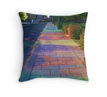 My City In Colors Throw Pillow