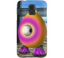 Saturated Egg Man Looking the other Way Samsung Galaxy Case/Skin
