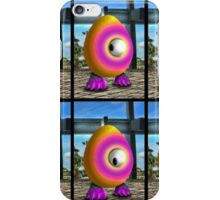 Saturated Egg Man Six iPhone Case/Skin