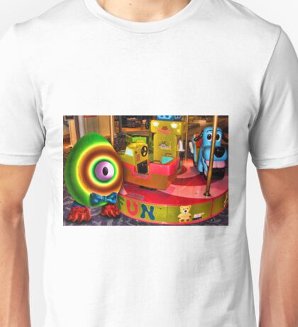 Saturated Egg Man at the Mall Unisex T-Shirt