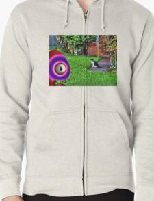 Saturated Egg Man getting Judged by the Neighborhood Cat T-Shirt