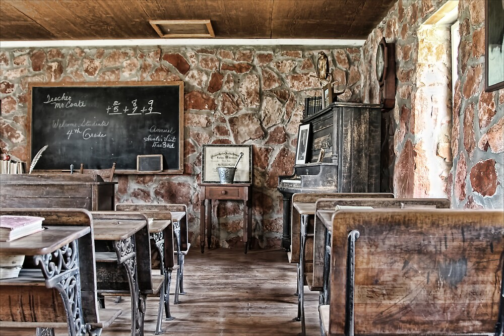 One Room School House by Patricia Montgomery