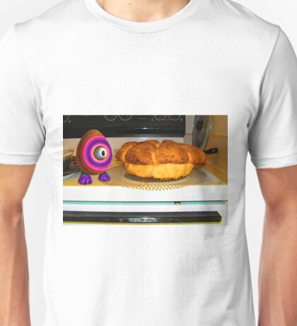 Saturated Egg Man Inspecting the Bread Bake Unisex T-Shirt