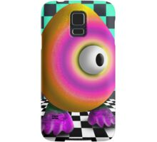 Saturated Egg Man on the Chess Board Samsung Galaxy Case/Skin