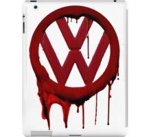VW Blood drip iPad Case/Skin