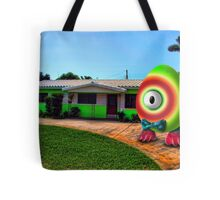 Saturated Egg Man Proud of the Lime House Tote Bag