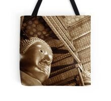Black & White Budda Tote Bag