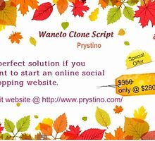 Best Ecommerce Script - Wanelo Clone - Prystino by Prystino