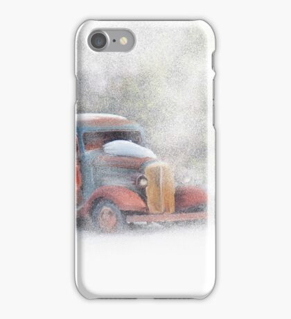 Stuck in Snow iPhone Case/Skin