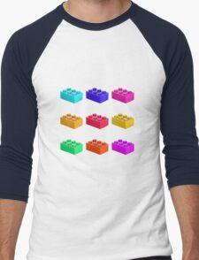 Warhol Toy Bricks Men's Baseball ¾ T-Shirt