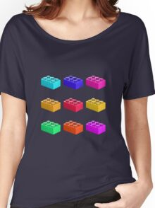 Warhol Toy Bricks Women's Relaxed Fit T-Shirt