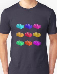 Warhol Toy Bricks Unisex T-Shirt