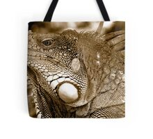 Big Iguana Tote Bag