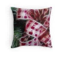 The Christmas Wreath Throw Pillow