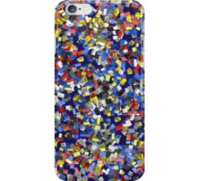 Pollock Toy Bricks iPhone Case/Skin