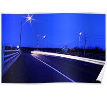 HighWay Light Night Run Poster