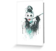 Audrey 2 Greeting Card