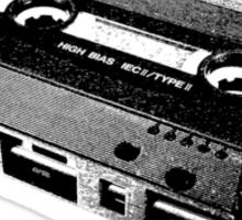 TDK Cassette Sticker