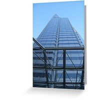 Skyrise in Blue Greeting Card